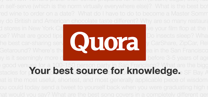 Quora Keeps the World's Knowledge For Itself